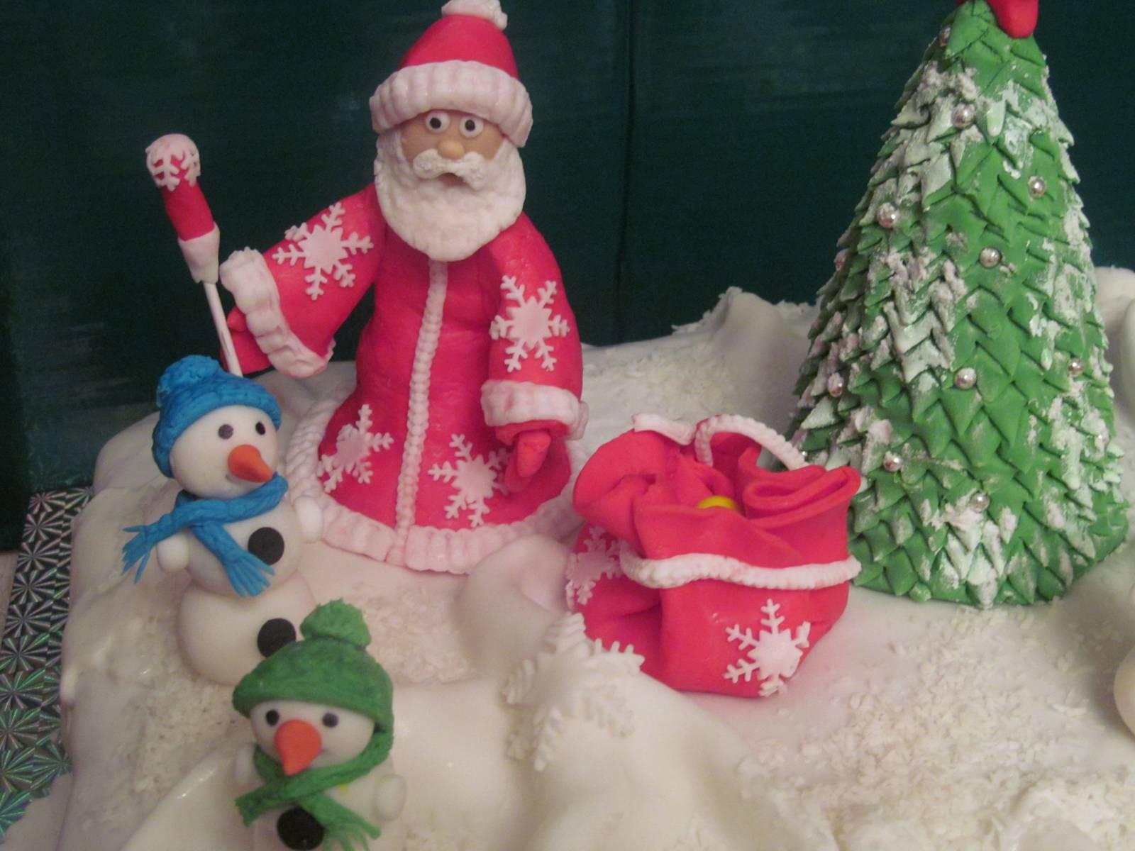Дед мороз из теста своими руками фото
